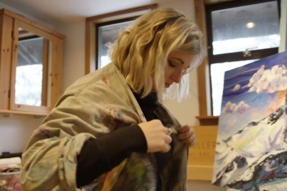 Andrea Mueller, Whistler Artist